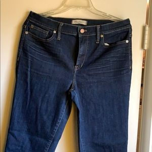 Madewell skinny high riser jeans size 31